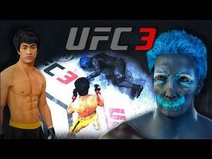 Bruce Lee vs. Neon Demon (EA sports UFC 3)