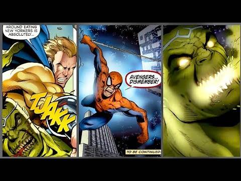 MARVEL ZOMBIES Return #4 l HULK Vs SENTRY