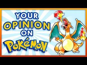 Your Opinion on Pokemon - Generation 1