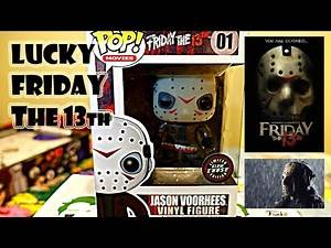 """""""LUCKY"""" FRIDAY THE 13th / JASON VOORHEES CHASE FUNKO POP"""