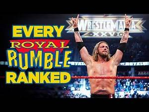 Ranking EVERY WWE Royal Rumble Match From Worst To Best