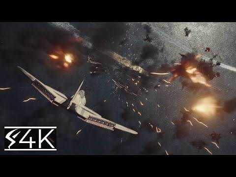 Midway Scene All Arial Attack Scenes 2019 4K UHD