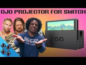 HANDS-ON with OJO PROJECTOR for NINTENDO SWITCH (feat. AJ Styles & Tyler Breeze) - Expansion Pack