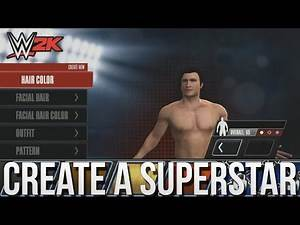 WWE 2K Mobile - Create A Superstar ✦ 【WWE 2K15 for iPhone / iPad / iOS /Android】