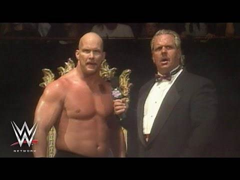 """""""Stone Cold"""" gives his iconic """"Austin 3:16"""" speech: King of the Ring 1996, only on WWE Network"""
