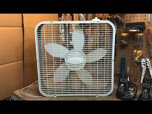 Early Lasko 3733 Box Fan with the Marco Motor from 1999 or 2000