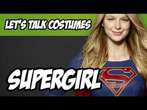 Supergirl Costume from the CBS television Show - Supergirl