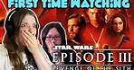 First Time Watching 'Star Wars Episode III: Revenge of The Sith' | Movie Review & Reaction |