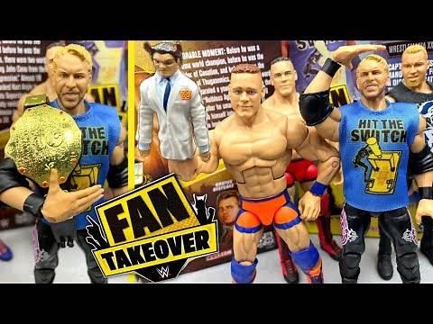 WWE FAN TAKEOVER CHRISTIAN & LEGENDS JOHN CENA ELITE FIGURE REVIEW!