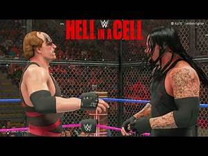 WWE 2K Kane'03 vs Ministry Undertaker - Hell In A Cell Match - United States Championship