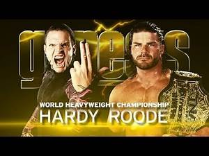 TNA Jeff Hardy vs Bobby Roode (Genesis 2012) Promo