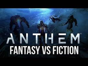 ANTHEM: More Like Star Wars, Less Like Mass Effect! (Science Fantasy VS Science Fiction)