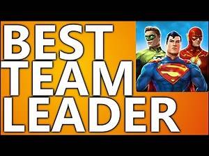 Best Team Leader Character | DC Legends