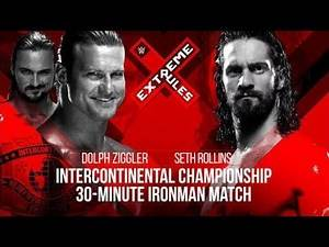 Dolph Ziggler versus Seth rollins