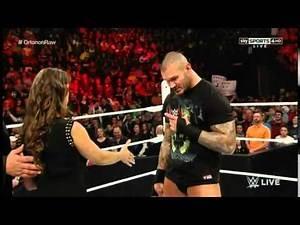 Monday Night Raw 23rd February 2015 Randy Orton Returns To Monday Night Raw