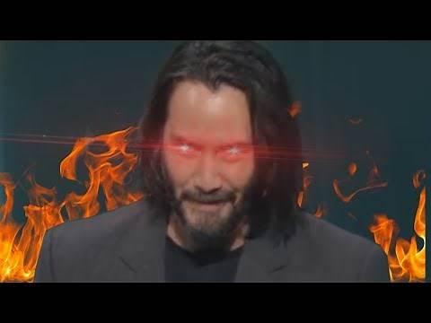 Keanu Reeves uses 10% of his power