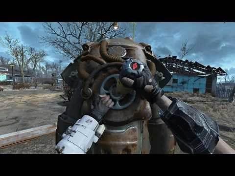 Fallout 4 Mod Review Better Power Armor Dials