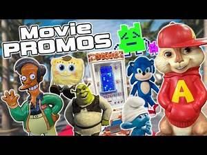 A Look at Movie Merchandise & Promotions - SpongeBob, Shrek, Sonic & More!