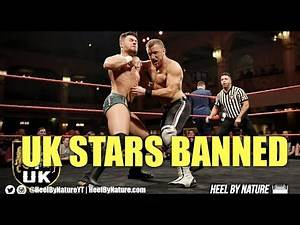 NXT UK Stars Released and Suspended From Progress Wrestling
