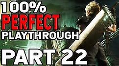 Final Fantasy VII 100% Playthrough Part 22 The Submarine And Going To Space