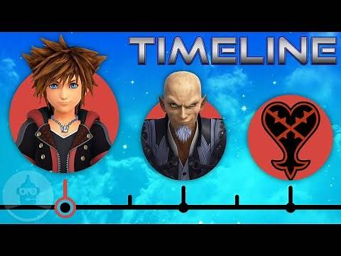 The (Simplified) Kingdom Hearts Timeline | The Leaderboard