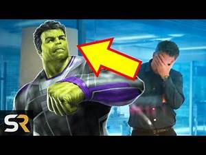 Marvel Theory: Hulk Could Be Completely Different In Avengers Endgame