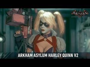 SKIN; Batman; Arkham Knight; Arkham Asylum Harley Quinn v2