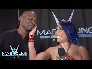 Shelton Benjamin begrudgingly congratulates Mia Yim: Exclusive, Sept. 19, 2018