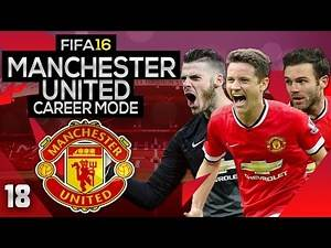 FIFA 16 Career Mode: Manchester United #18 - Accidental Red Card (FIFA 16 Gameplay)