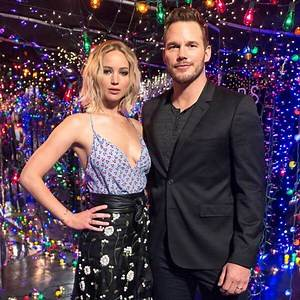 Jennifer Lawrence and Chris Pratt Want to Rob a Liquor Store Together: Plus, More Confessions From the