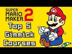 Super Mario Maker 2 Top 5 Newest GIMMICK COURSES (Switch)