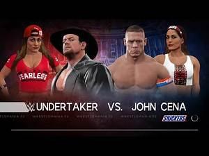 John Cena vs Nikki Bella , Undertaker Full Match TLC