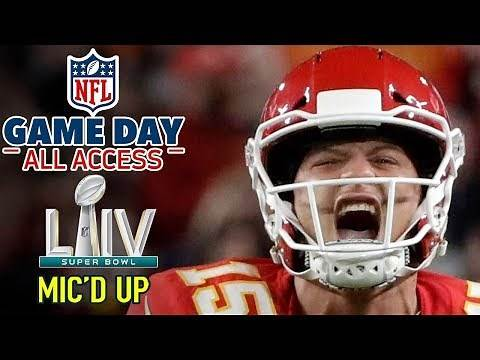 """Super Bowl LIV Mic'd Up, """"I'm a BEAST down here... HIT ME!""""   Game Day All Access"""