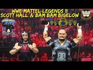 WWE Mattel Legends Series 11 Scott Hall & Bam Bam Bigelow Figure Review!
