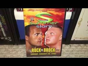 WWE Summerslam 2002 DVD Review