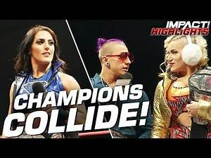 Tessa Blanchard CONFRONTED by IMPACT's Other Champions!   IMPACT! Highlights Jan 21, 2020