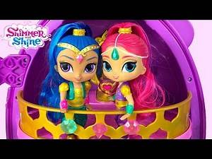 GENIE DANCE SHIMMER AND SHINE SETS DANCING & SINGING TOGETHER DOLLS FROM FISHER PRICE – UNBOXING