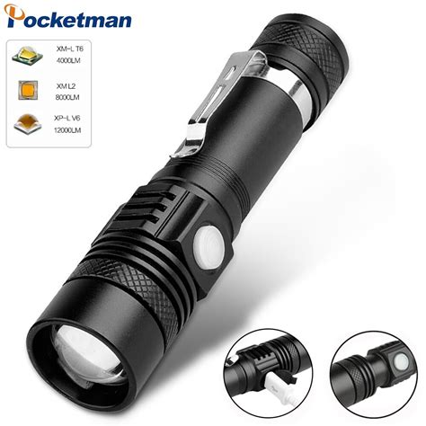 15000LM T6 LED Bright Zoomable | Watches Store Online Reviews