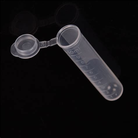 20Pcs 10ml Plastic Centrifuge Lab Test Tube Vial Sample Container with Cap HP | Watches Store Online Reviews