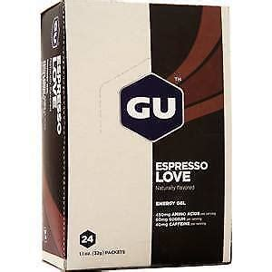 24 pckts Gu Energy Gel Espresso Love 24 1.1 Oz Packets Full Sealed Box | Watches Store Online Reviews