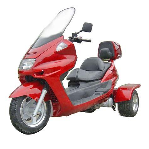 3-WheelGas-Scooter