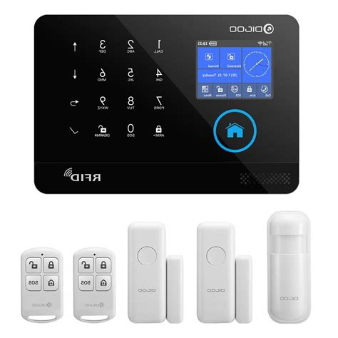 3G GSM WiFi Wireless Smart Home Security Alarm | Watches Store Online Reviews