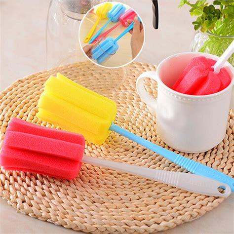 3PCS Kitchen Handle Sponge Brush | Gps Store