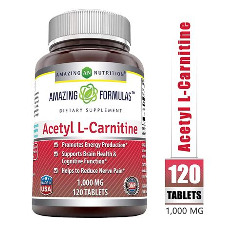 Acetyl L Carnitine Tablets, 1000 | Watches Store Online Reviews