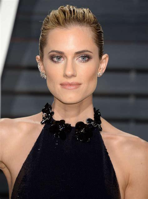 Allison Williams Vanity Fair Oscar Party