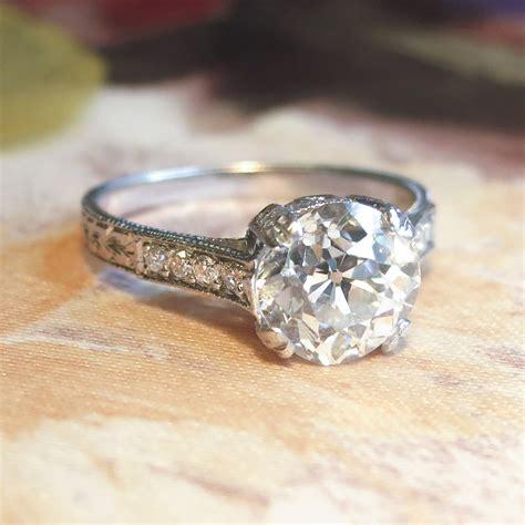 AntiqueCushion-Cut-Diamond-Ring