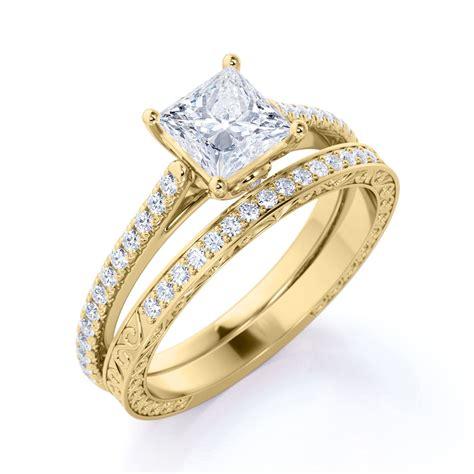AntiquePrincess-Cut-Engagement-Rings