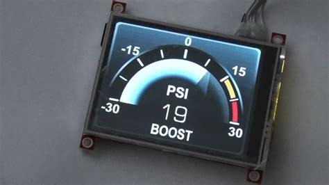 Arduino-Display-Gauge
