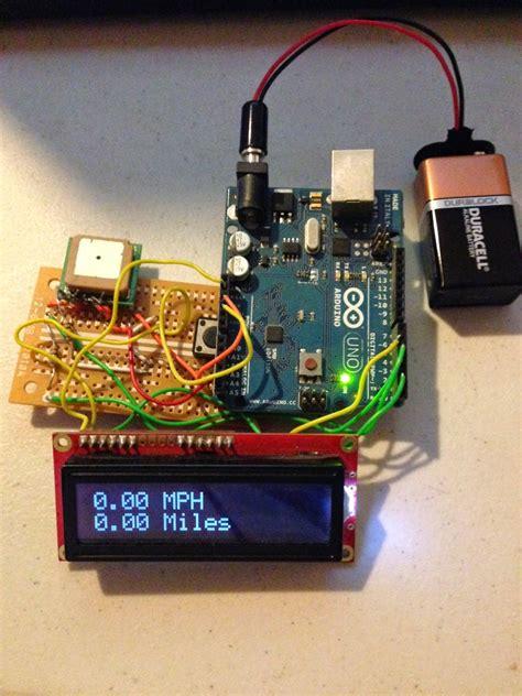 Arduino-GPSSpeedometer