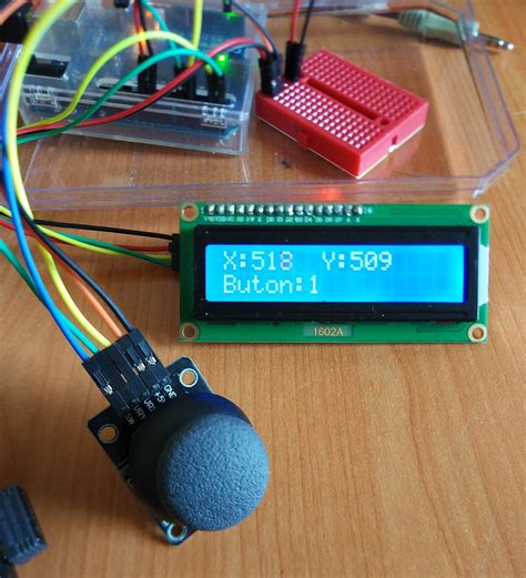 Arduino-Joystick-Lcd-Display